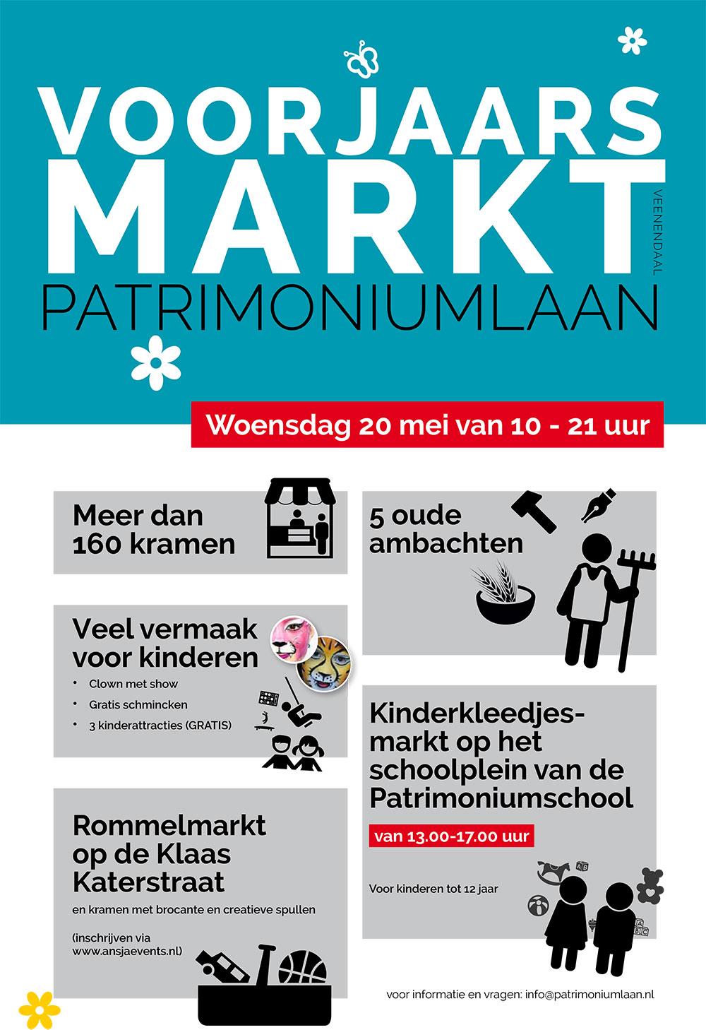 Voorjaarsmarkt-Patrimoniumlaan-Veenendaal-2015